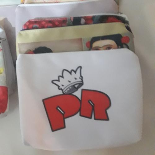 mochilas, cartucheras personalizadas
