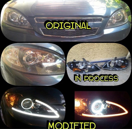 modificacion y personalizacion de faros, luces led
