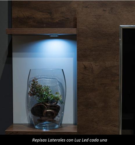 modular rack aparador para tv y audio elegante moderno aron