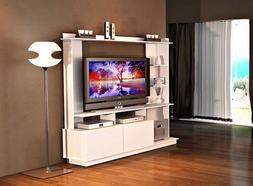 modular rack centro de entretenimiento led tv mesa r20424