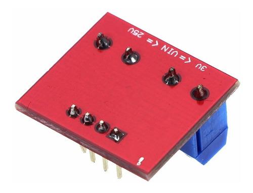 módulo de detección de voltaje y tensión arduino diy