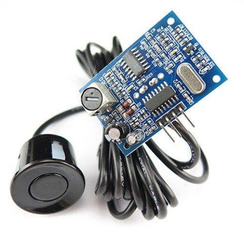 modulo sensor ultrasonido jsn sr04t arduino  microcontrolad