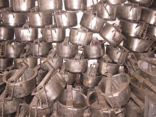 moldes en acero inoxidable para jamoneria
