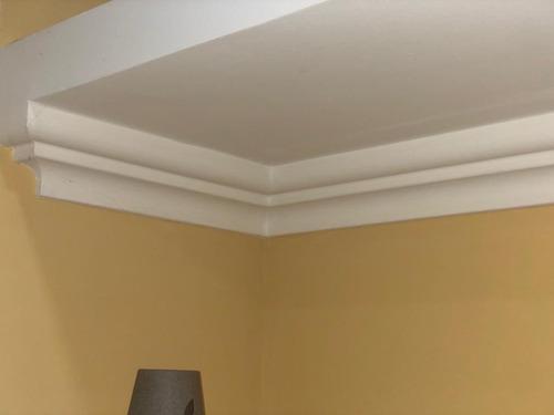 moldura decorativa poliestireno! techos o cielorraso de yeso