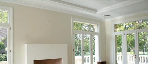 moldura isomold telgopor a0 para interior /techo/pared/ 4 ml