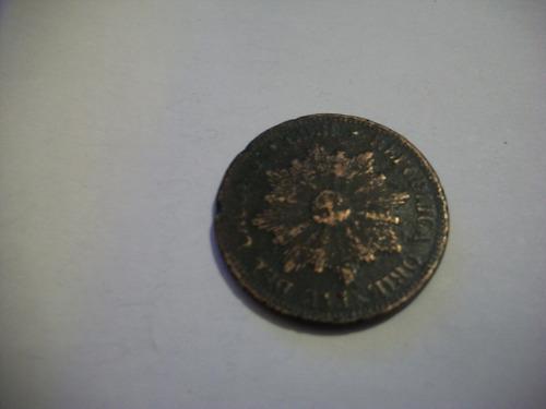 moneda 4 centesimos año 1869 de coleccion