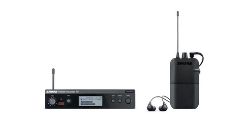 monitor in ear shure p3tr112gr psm300 - p3t+p3r+se112