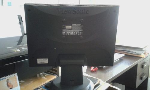 monitor lcd viewsonic 17  para pc