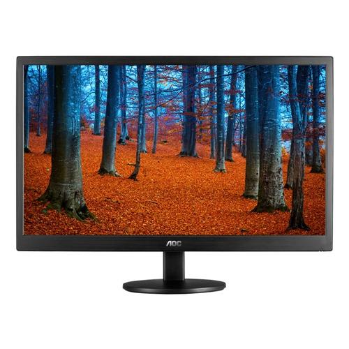 monitor led aoc e2070swhn 19.5  hd 1600 x 900 - hdmi, vga