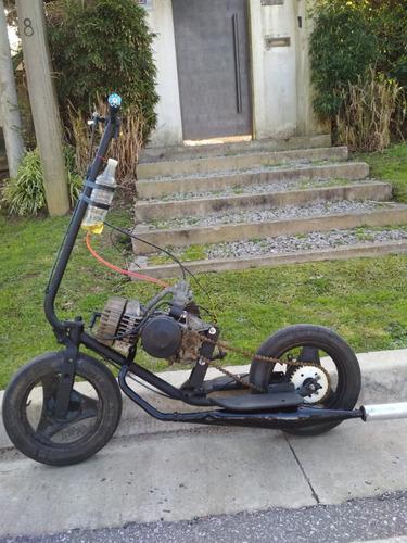 monopatin a motor 65cc, permuto