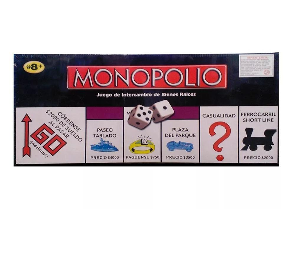 Monopolio Juego De Mesa Para Grandes Y Chicos 390 00 En Mercado