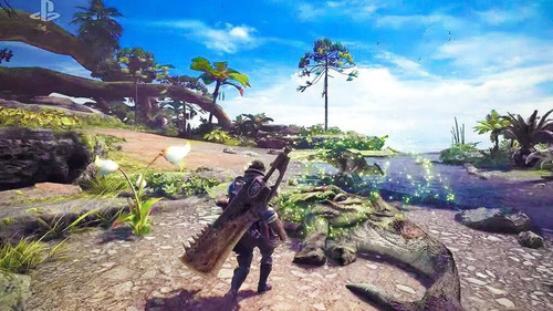 monster hunter world para playstation 4 ps4 nuevo sellado