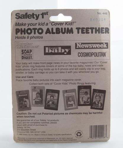 mordillo con forma de álbum de fotos - safety 1st