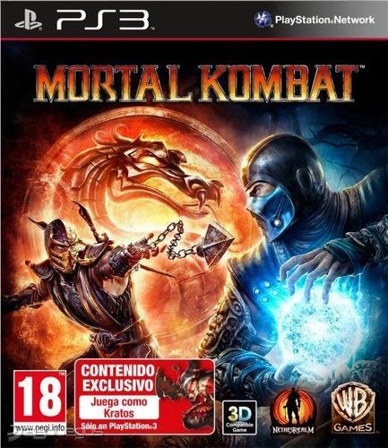 mortal kombat 9 complete edition ps3 play 3 juego original