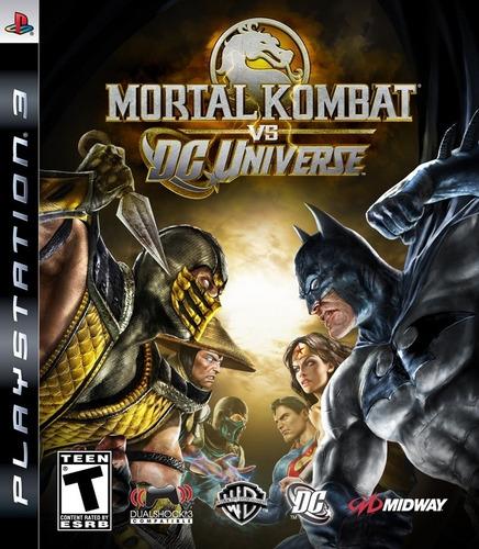 mortal kombat vs dc   ps3 original  juego  venta y canje