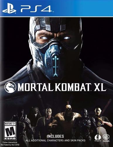 mortal kombat xl edition ps4 original + garantía + español