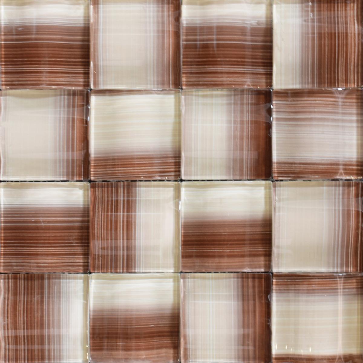 Mosaico revestimiento vidrio pared cocina cer micas castro for Ceramicas castro