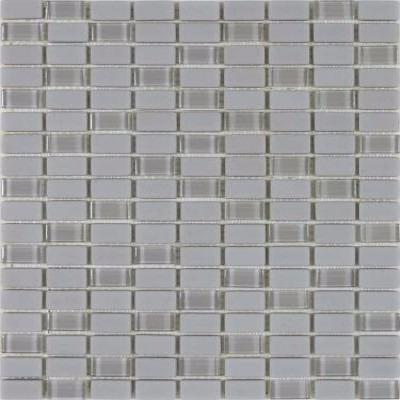 mosaicos vidrio y piedra gris (precio x pieza)