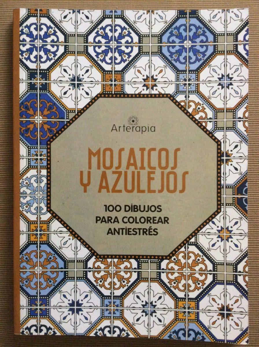 Mosaicos Y Azulejos Arteterapia 100 Dibujos Para Colorear 550 - Azulejos-con-dibujos