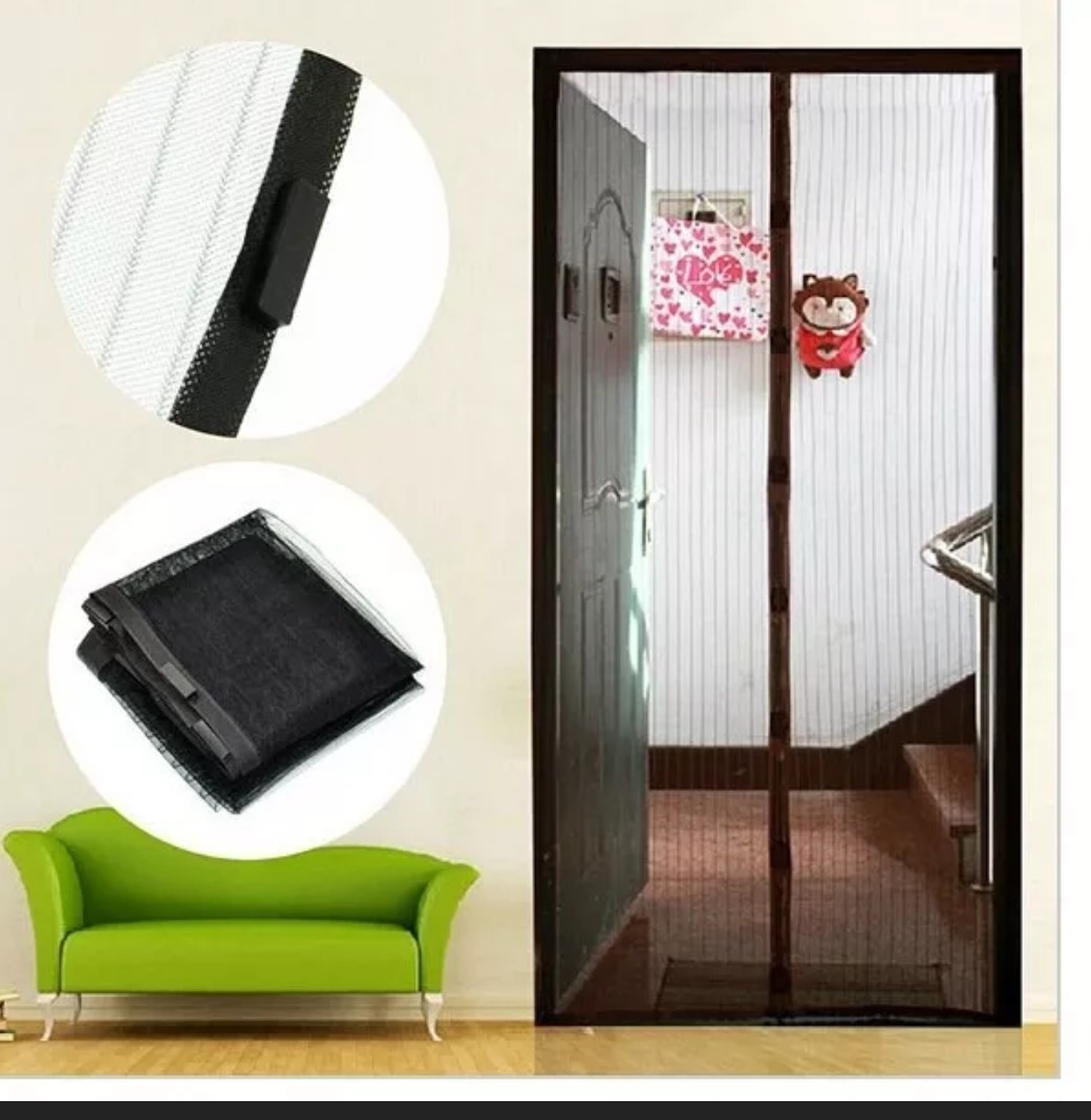 Mosquitero con imanes para puerta 350 00 en mercado libre for Mosquitero magnetico