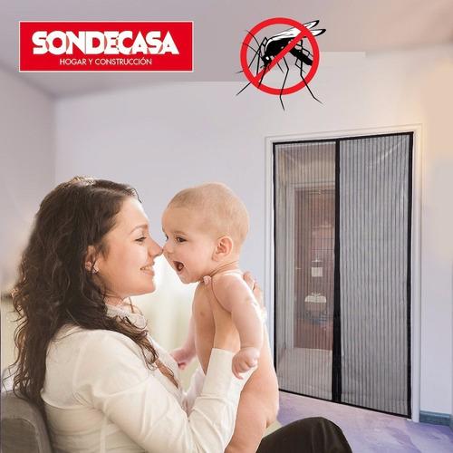 mosquitero puerta cortina magnética - vea el vídeo!!!