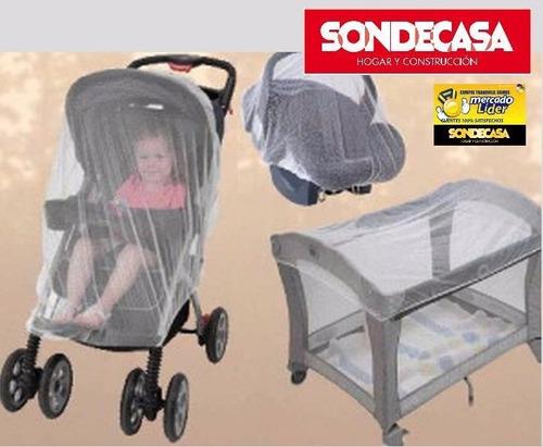 mosquiteros bebe pack 3 unid sondecasa cuna silla cochecito