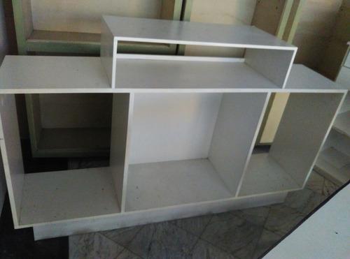 mostrador, exhibidor, vitrina madera 176 largo