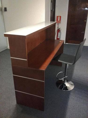 mostrador recepción para oficina o local