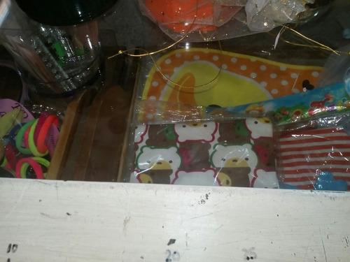 mostrador vitrina antiguo de merceria. 16 cajones.