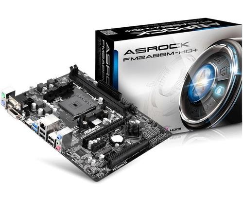 motherboard asrock fm2a88m-hd+