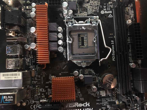 motherboard asrock h110m-hdv