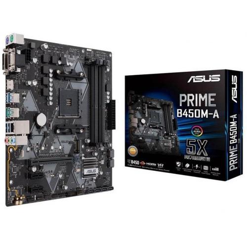 motherboard asus b450m-a amd ryzen hdmi 4k socket am4