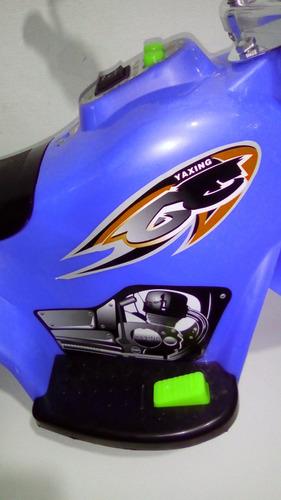 moto a batería para niños