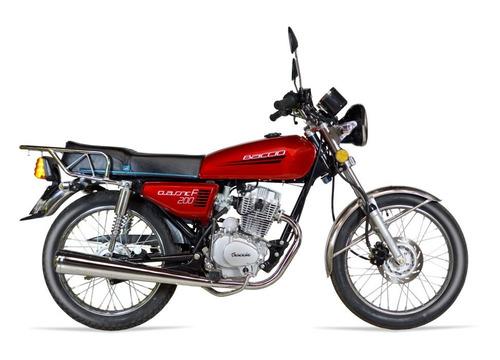moto baccio classic f 200 okm entrega inmediata