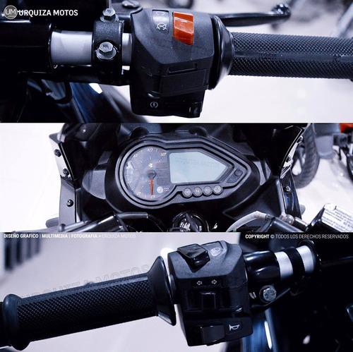 moto bajaj pulsar rouser 220 f 220f street 0km urquiza motos