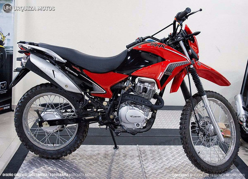 moto corven triax 150 r3 enduro cross 0km urquiza motos