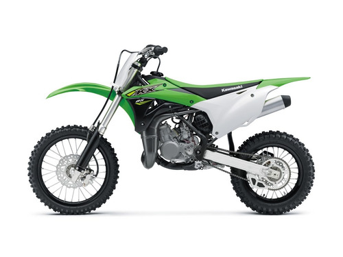 moto cross kawasaki kx 85 2018