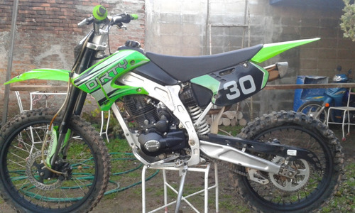 moto dirty 250cc cross