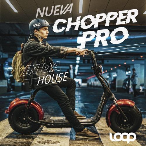 moto eléctrica loop chopper pro