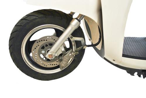 moto eléctrica scooter 0km e-force blanca 60volt 1200wats
