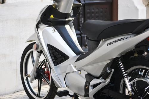moto eléctrica veems autonomía 50km pollerita