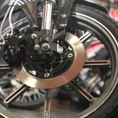 moto eléctrica veems super soco autonomía 80km