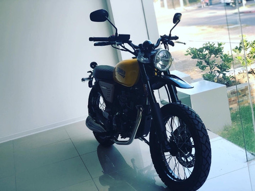moto hanway scrambler 150 cc - oportunidad 0km!!!