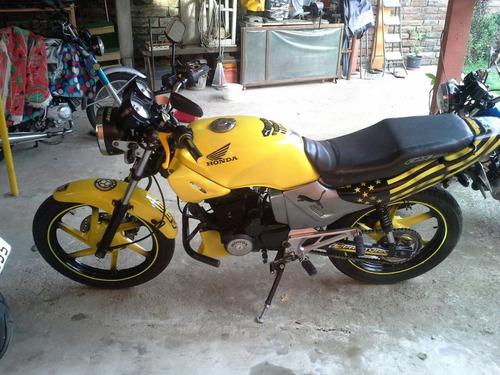 moto honda cbx 200 strada 1996 impecable u$s  2700