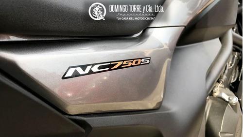 moto honda nc750s 0 km abs oferta financiacion permutas
