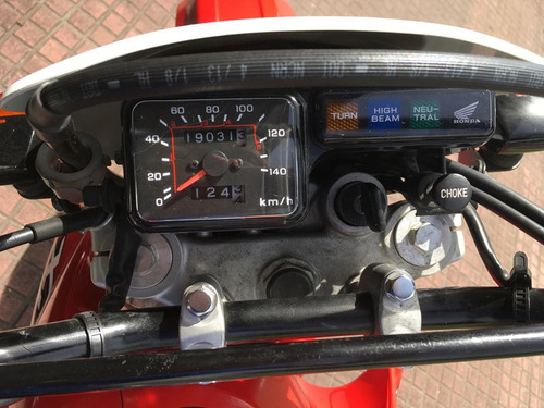 moto honda xl 200 tipo cross enduro cilindrada 200