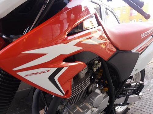 moto honda xr250 2018 tornado entrega inmediata financiación
