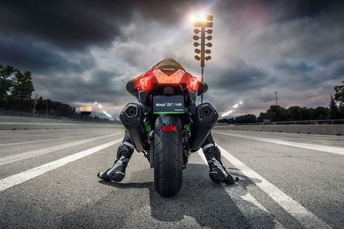 moto kawasaki zx 14 modelo 2019