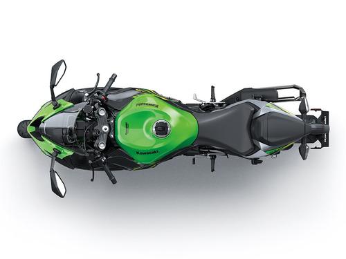 moto kawasaki zx 636 r  modelo 2019