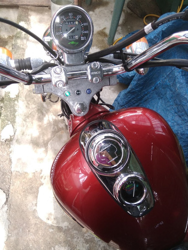 moto kimco 125 chopper, ¡en buen estado! vendo